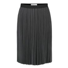 Blanche Sort/Hvid Vicri Skirt