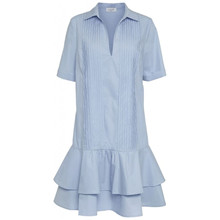 Norr Shelly Dress Light Blue