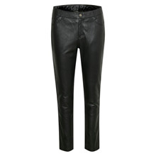 Denim Hunter The Leather Pant Black