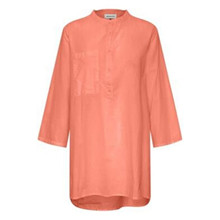 Denim Hunter Elba Shirt Fiery Coral