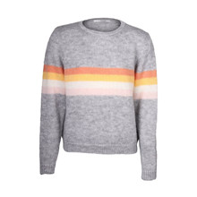 Sibin Linnebjerg Sky Sweat Grey Strik