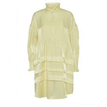 Norr Addi Dress Light Yellow