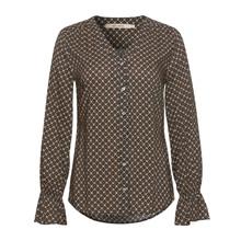 Rue De Femme Rossa Shirt Beige/Black