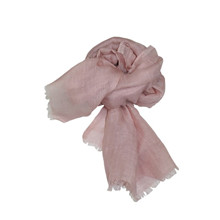 Mathlau Plain Shawl Rosa