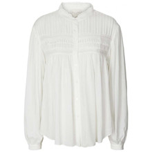 Lollys Laundry White Cara Bluse