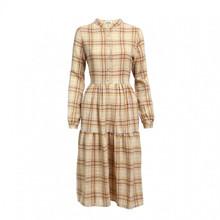 Noella Lipe Dress Camel Checks