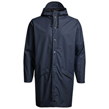 Rains Blå 1202 Long Jacket