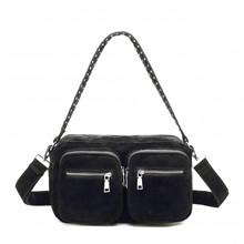 Noella Celia Bag Real Suede Black