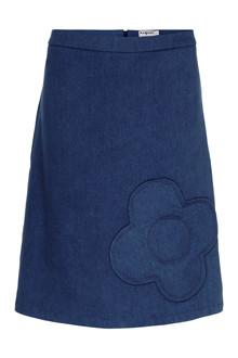 Margot Cowgirl Denimflowerr Skirt