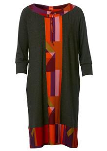 Du Milde Stripes and Squares Ella Kjole