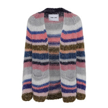 Dawn X Dare Make Up Multi Stripe Cardigan