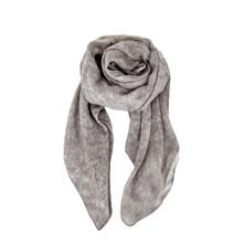 Black Colour Goldfran Silketørklæde