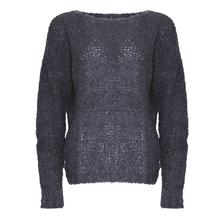 Noella Dark Grey Kala Knit Sweater