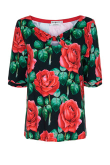 Margot Ruby Rubb Rose Bluse