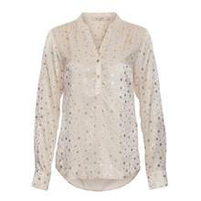 Rue De Femme Dot Shirt Rose