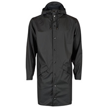 Rains Sort 1202 Long Jacket