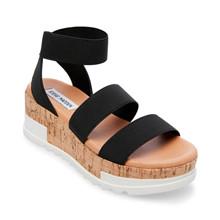 Steve Madden Black Bandi Sandal