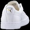 Puma White Basket Classic Sneakers