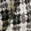 Gestuz Sort/Hvid Ophelia Skirt