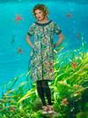 Du Milde Ellas Seaweeds Kjole