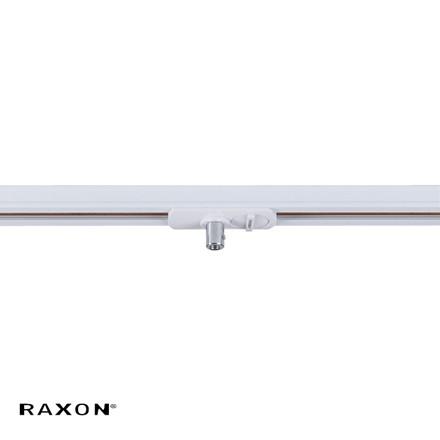 1F Flat P-adaptor RX-PRO Hvid - Raxon