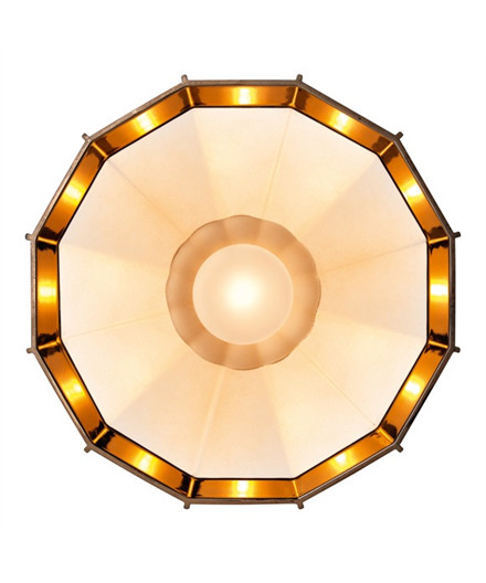 Mysterio Væglampe/Loftlampe Hvid - Diesel