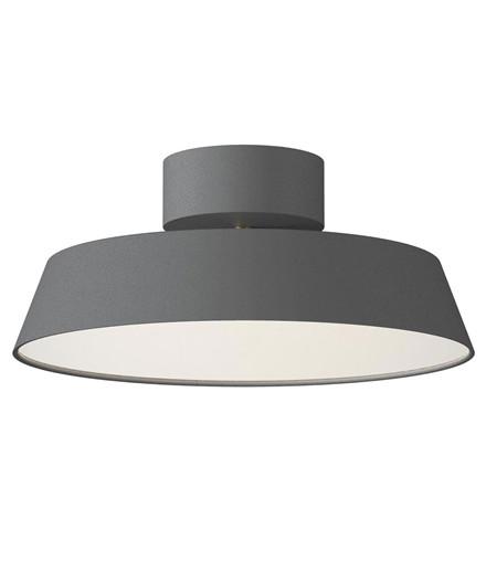 Alba LED Plafond Lampe Grå - Nordlux