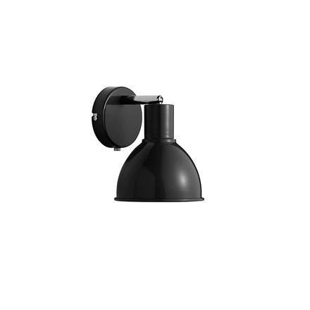 POP Væg E27 Sort Væglampe - Nordlux