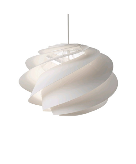 Swirl 1 Pendel Medium Hvid - Le Klint