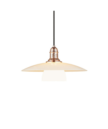 Bohus Pendel Opal/Kobber - Halo Design