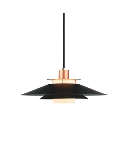 Rivoli Pendel Ø40cm Sort - Halo Design