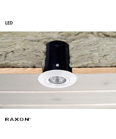 LD800 Safespot LED GU10 Downlight Hvid - Raxon