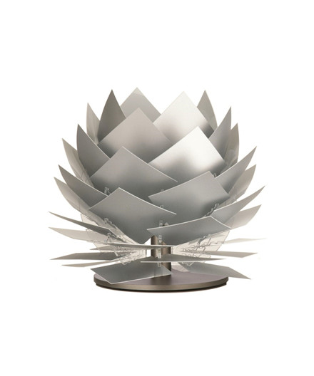 PineApple XS LED Lav Bordlampe Alu Look - DybergLarsen