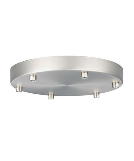Roset til 6 lamper Børstet Ø22 - Halo Design