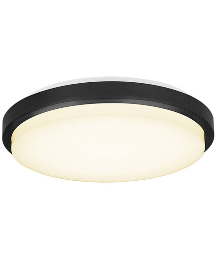 Led Plafond Upscale Ø28cm Sort - Halo Design