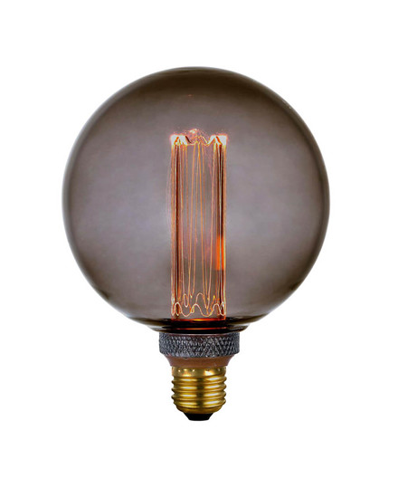Pære LED 5W (40-200lm) 3-step Smoke Globe E27 - Colors