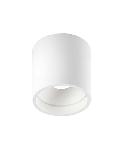 Solo Round Loftlampe Hvid - LIGHT-POINT