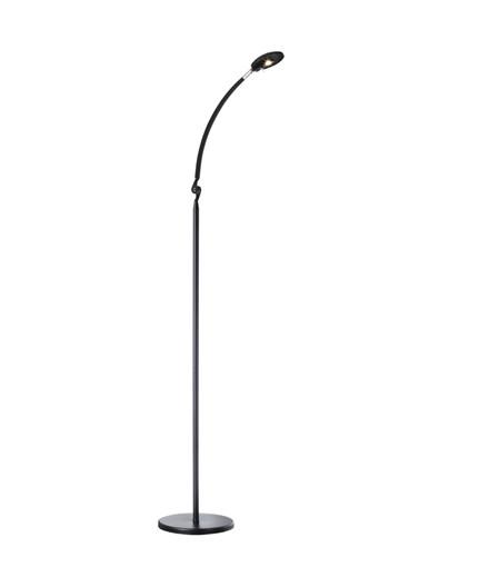 Klarinett Mini Gulvlampe Sort - NORD