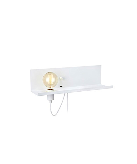 Multi Lyshylde Hvid med USB - Markslöjd