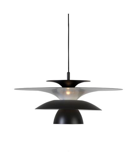 Picasso Pendel Mat Sort/Mat Sort Ø500 LED - Belid
