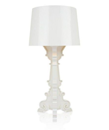 Bourgie Bordlampe Hvid/Guld - Kartell