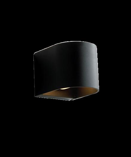 LightU Væglampe Sort - Embacco