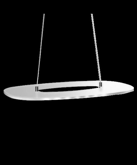 Svalen Ditte Oval Pendel Mat - Lyngsaa