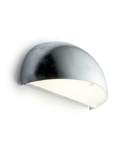 Rørhat Væglampe 40W E14 Galvaniseret - LIGHT-POINT