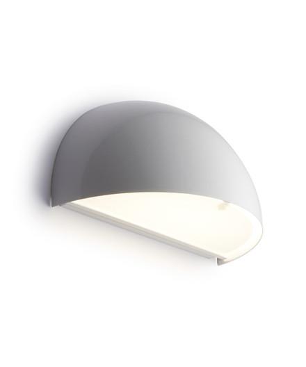 Rørhat Væglampe 10,5W LED Hvid - LIGHT-POINT