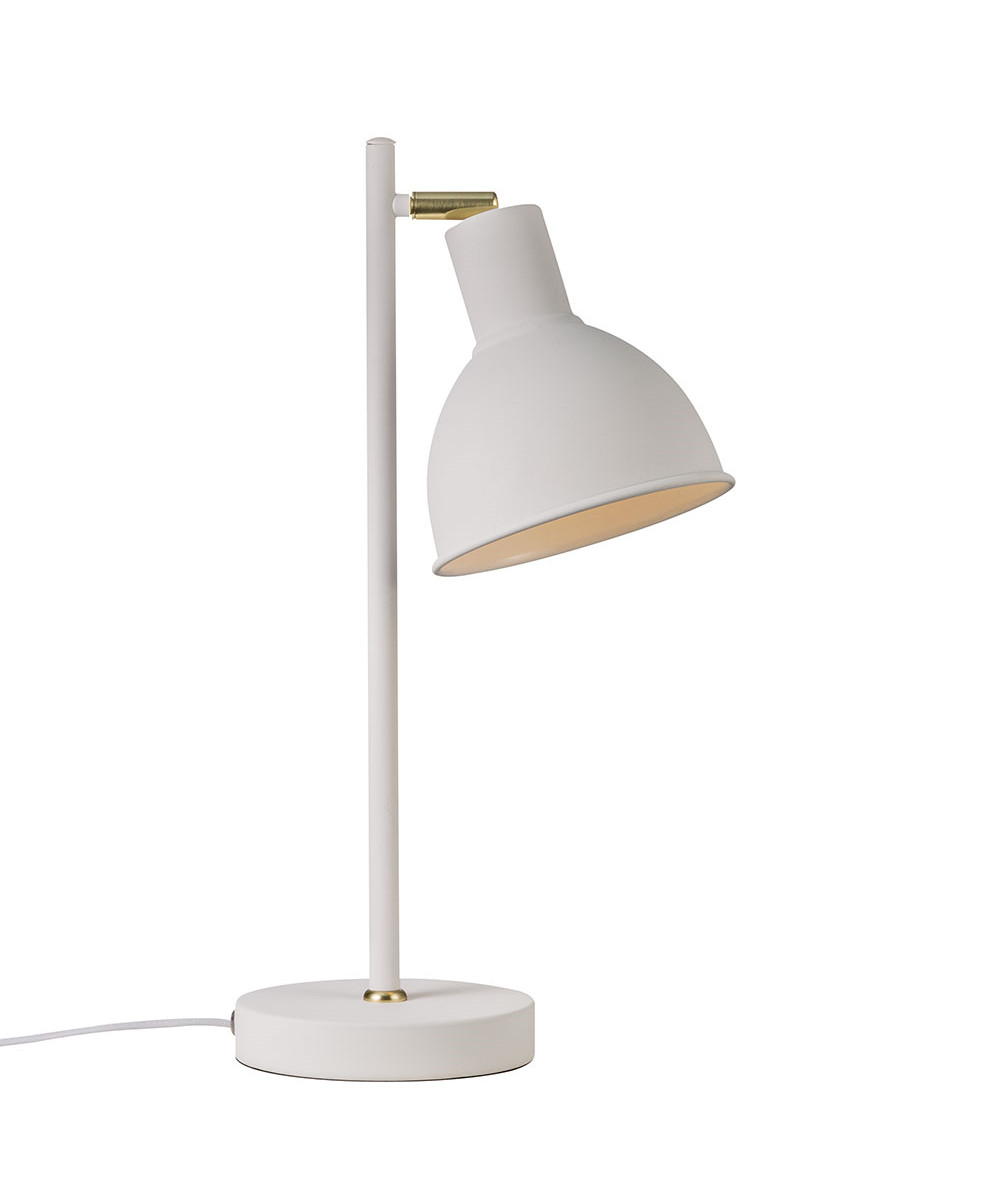 Pop Rough Bordlampe Hvid - Nordlux