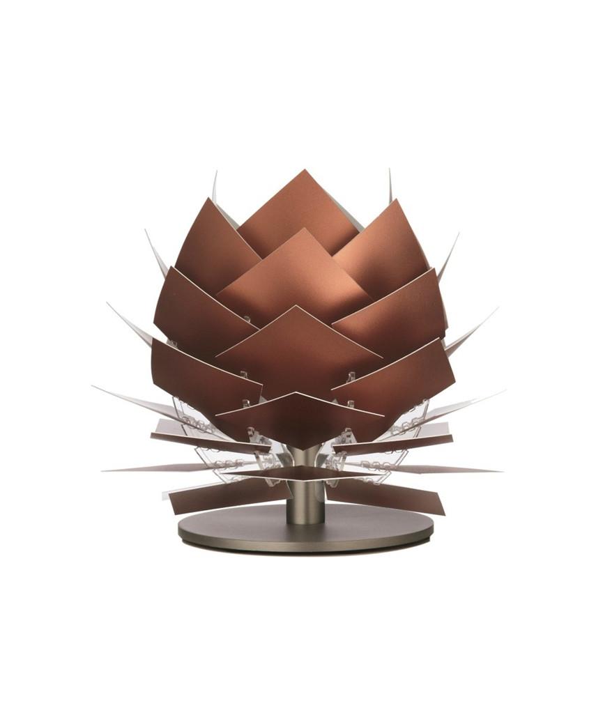 PineApple XS LED Lav Bordlampe Kobber Look - DybergLarsen