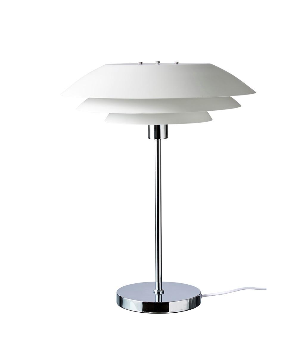 DL45 Bordlampe Mat Hvid - DybergLarsen