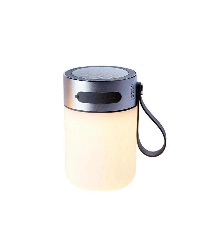 LED Sound Jar Silver - Halo Design