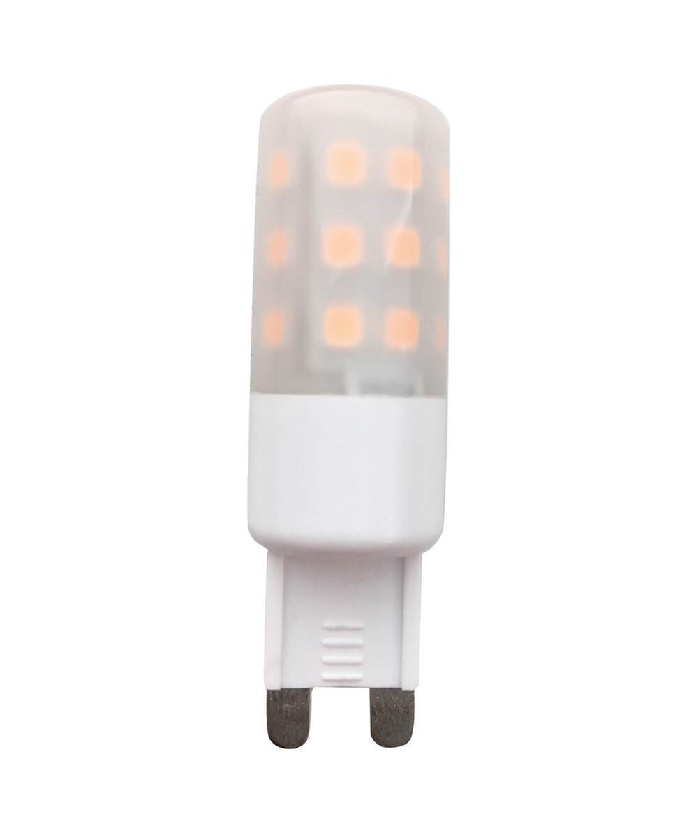 Pære LED 5W (500lm) 3000K 3-step G9 - Colors